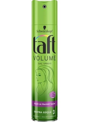 TAFT Taft Sprey Volumen Ekstra Hacim Yeşil 250 Ml Renksiz
